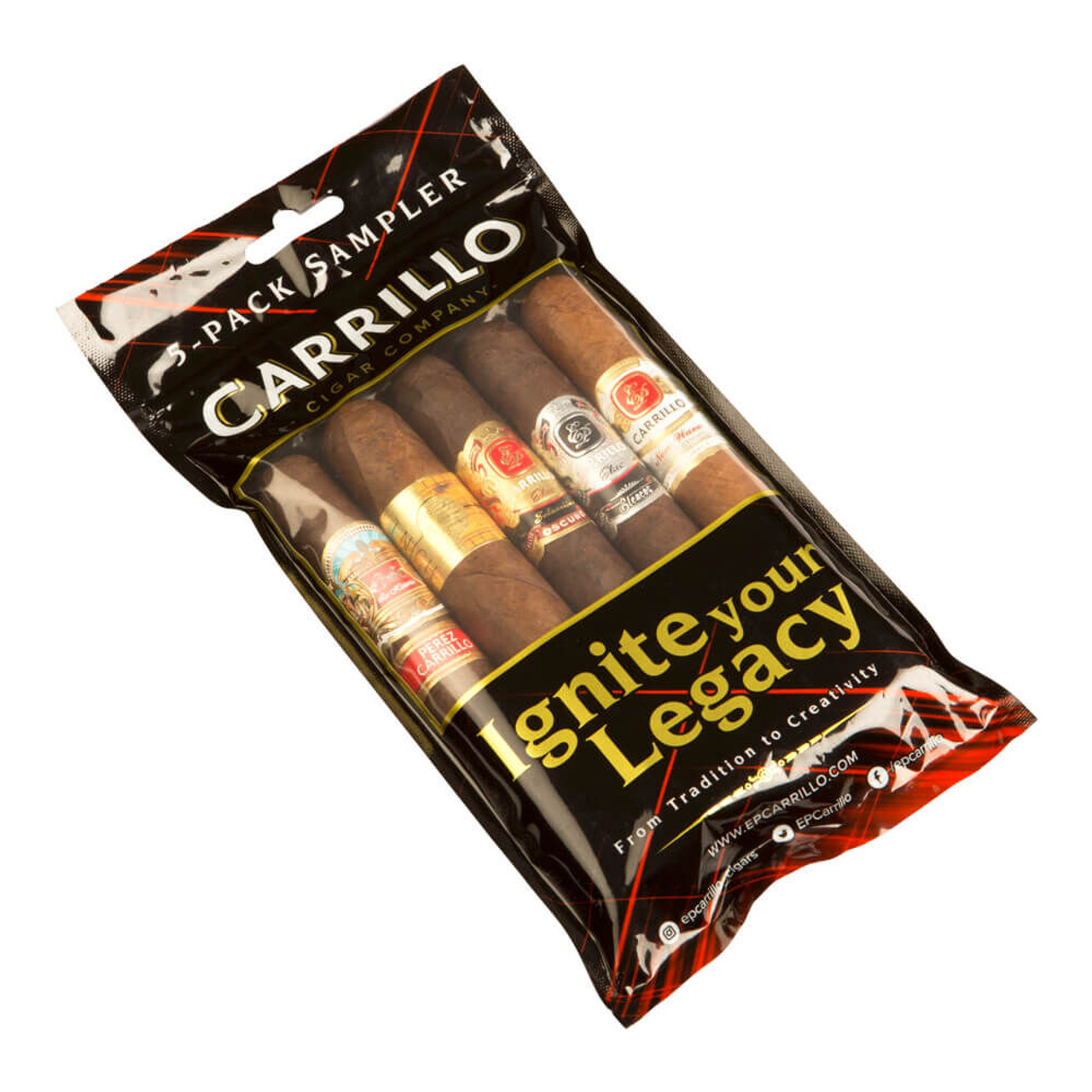 Cigar Samplers E.P. Carrillo Toro Sampler Cigars (Fresh Pack of 5)