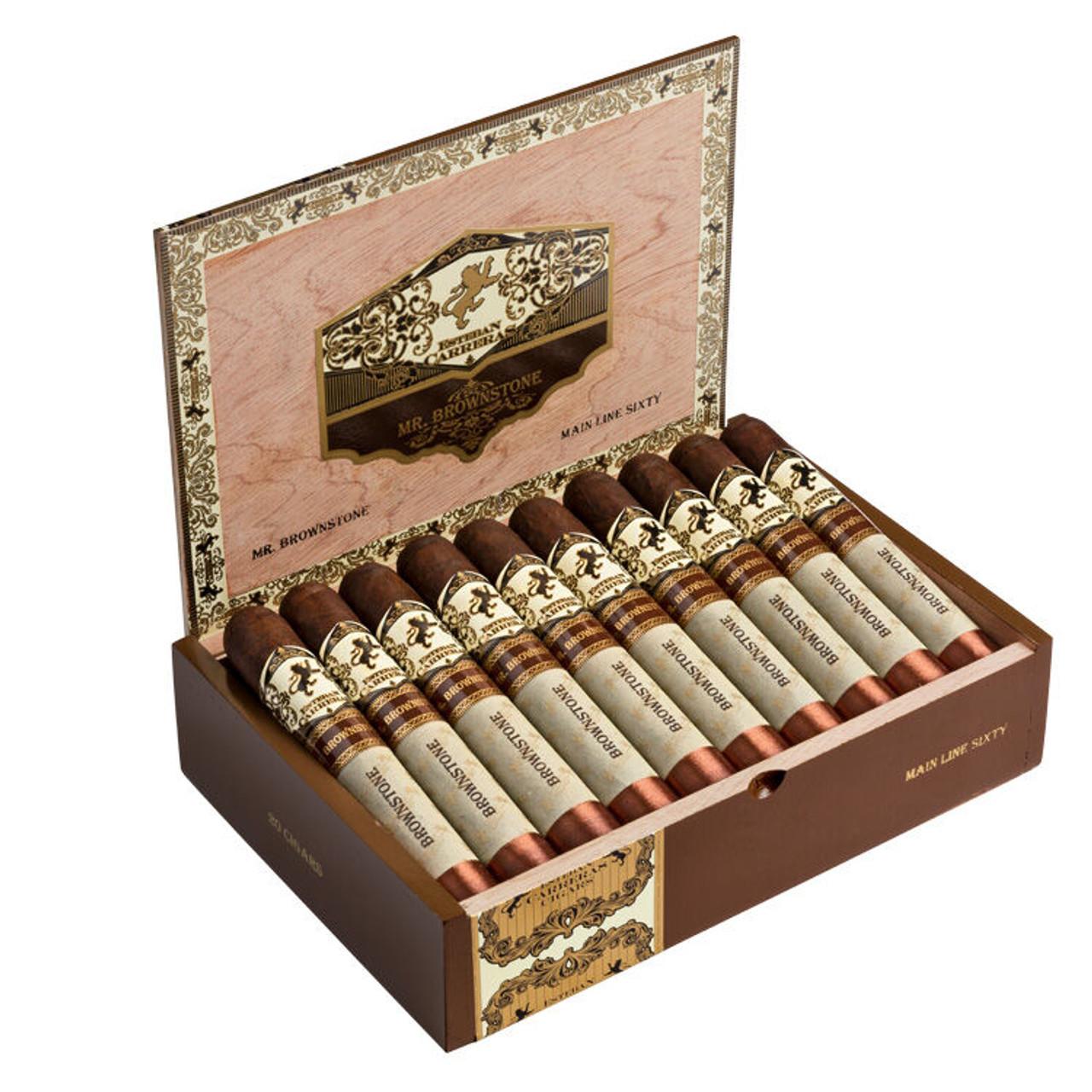 Esteban Carreras Mr. Brownstone Speedball Robusto Cigars - 5 x 54 (Box of 10)