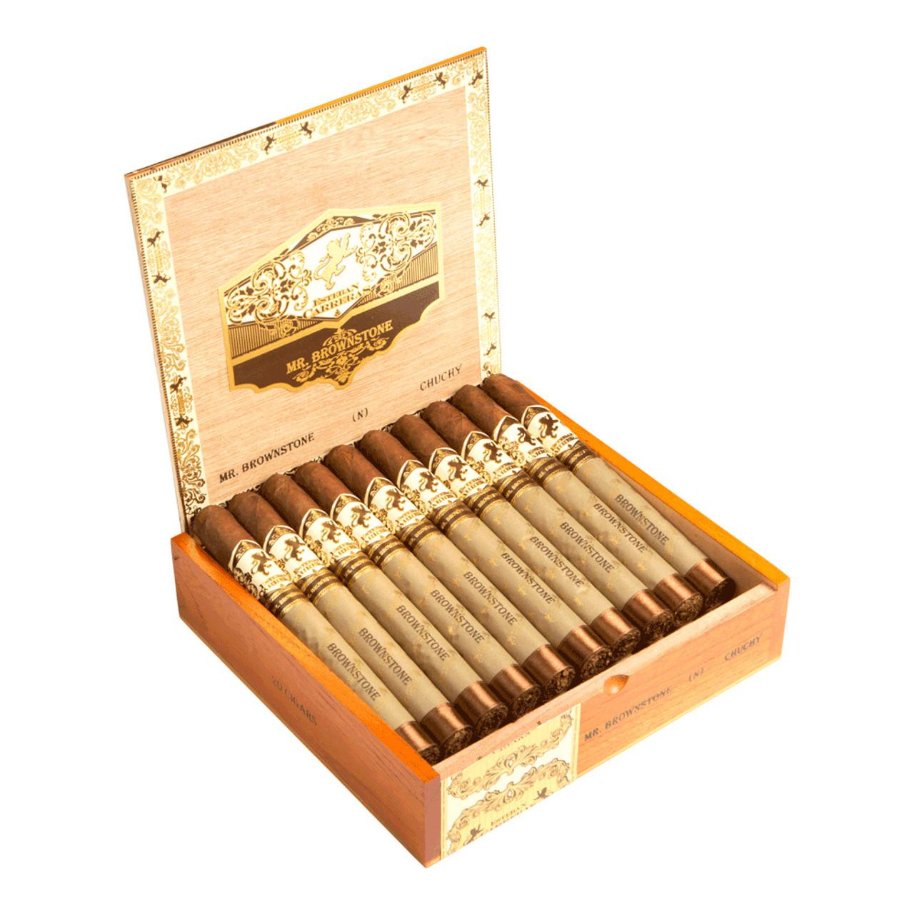 Esteban Carreras Mr. Brownstone Habano Chuchy Cigars - 7 x 49 (Box of 20)