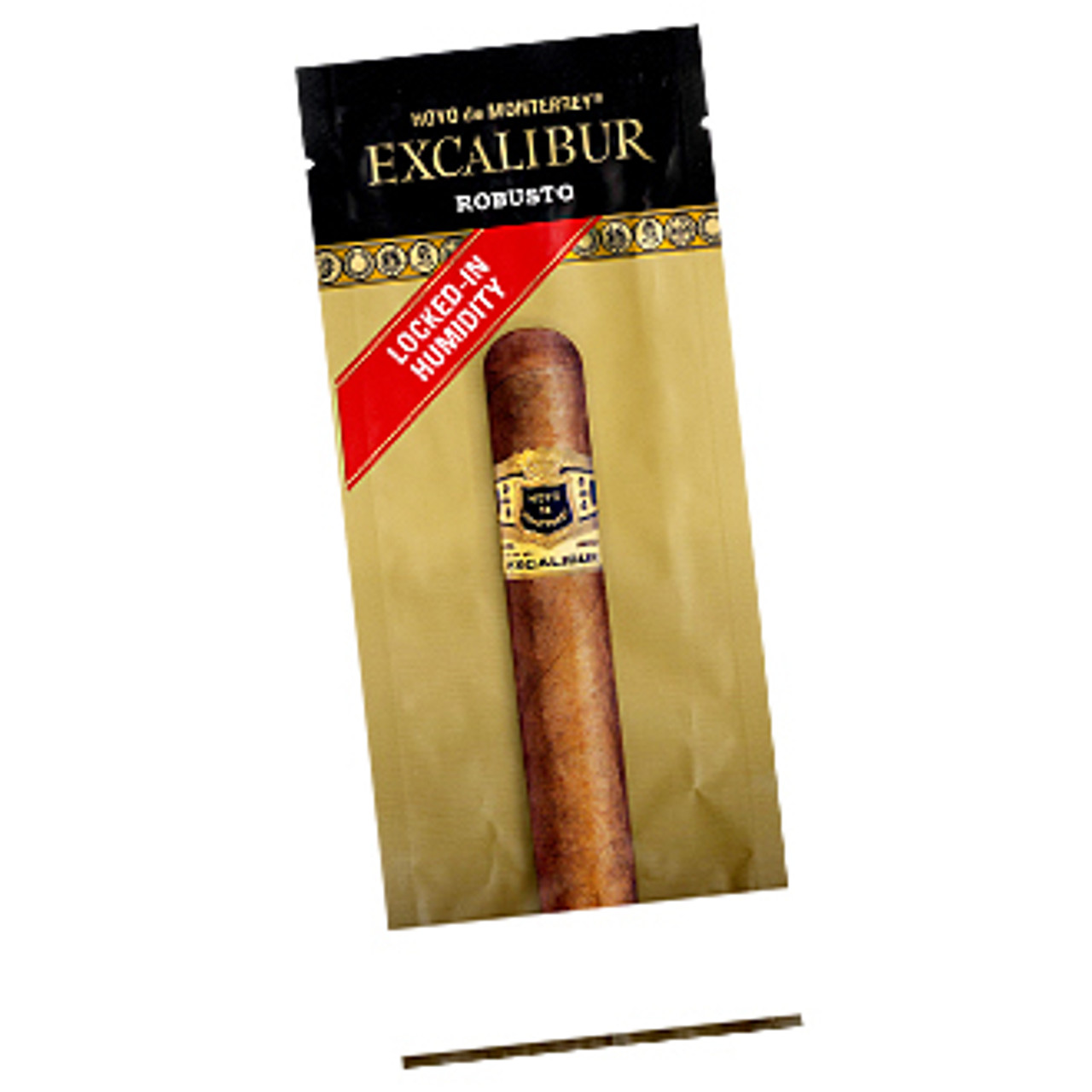 Excalibur Robusto Fresh Pack Cigars - 5.5 x 50 (Pack of 6)