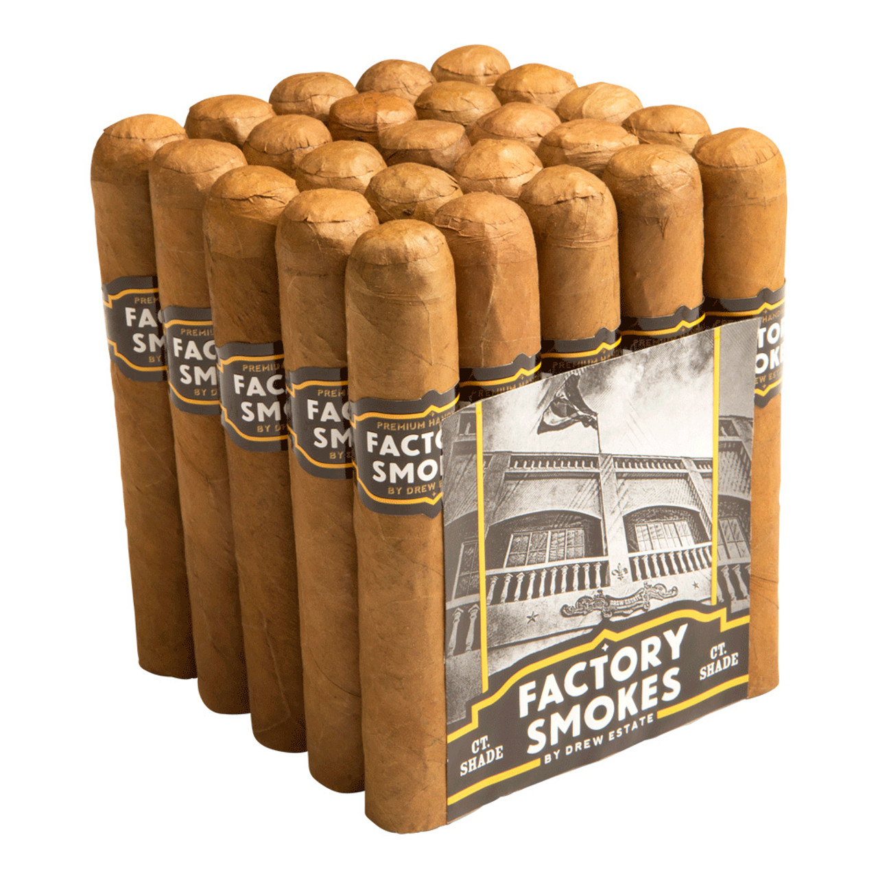 Factory Smokes by Drew Estate Robusto Shade Cigars - 5 x 54 (Bundle of 20)