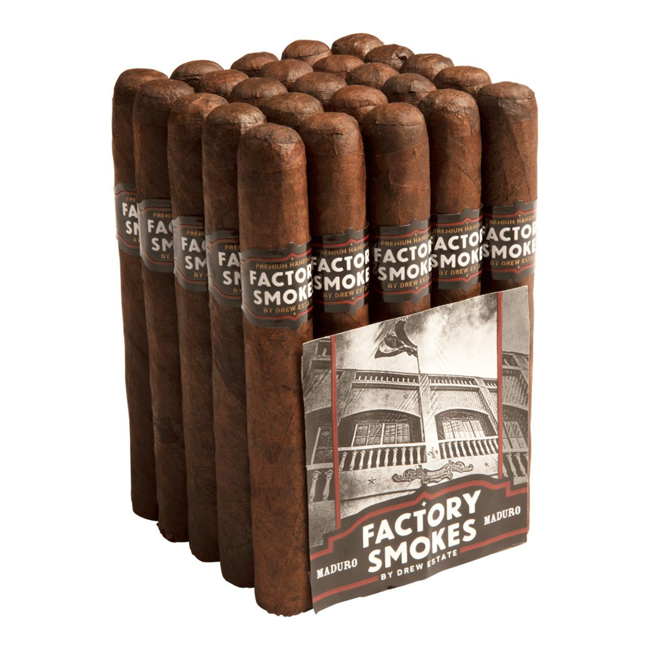 Factory Smokes by Drew Estate Toro Maduro Cigars - 6 x 52 (Bundle of 20)