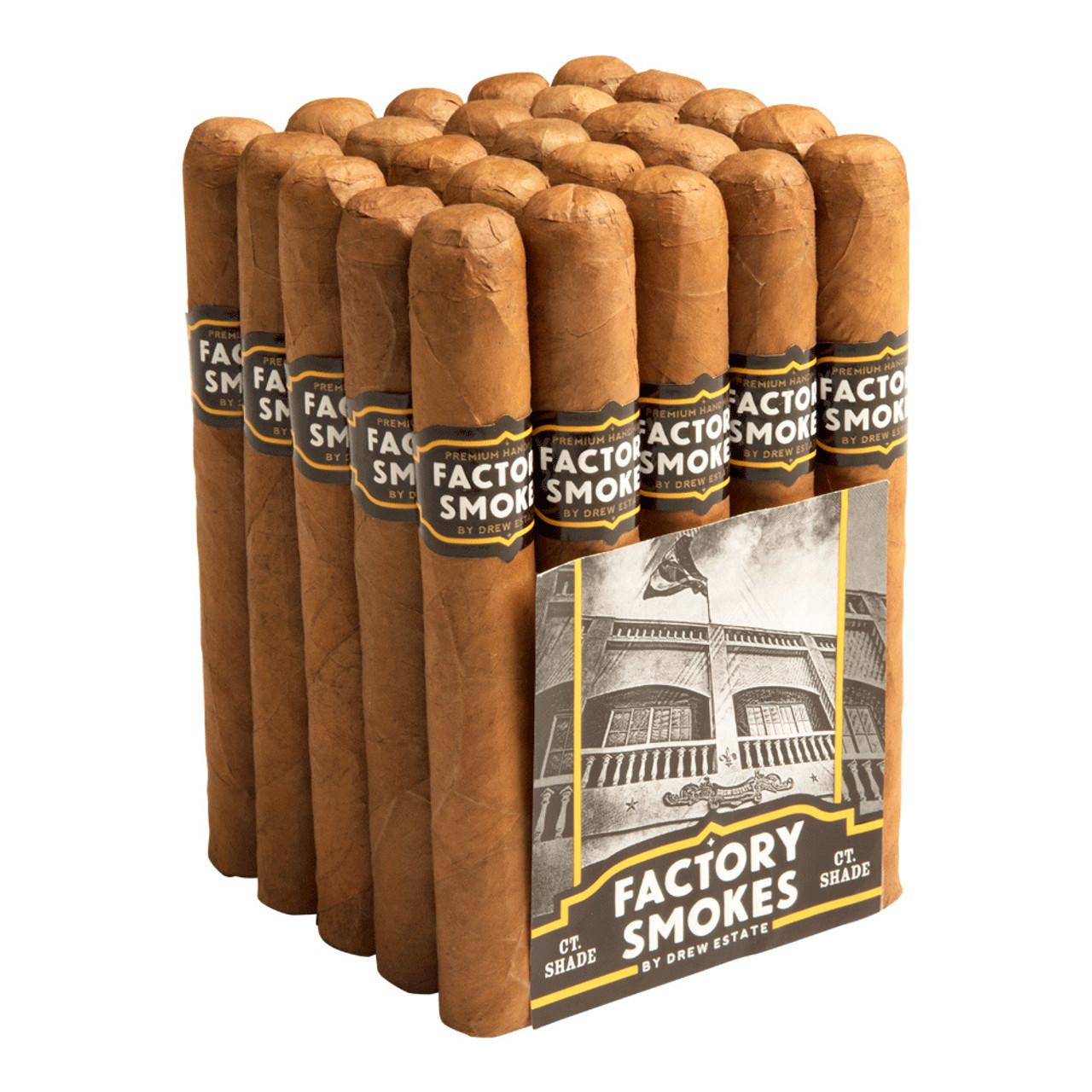 Factory Smokes by Drew Estate Toro Shade Cigars - 6 x 52 (Bundle of 20)