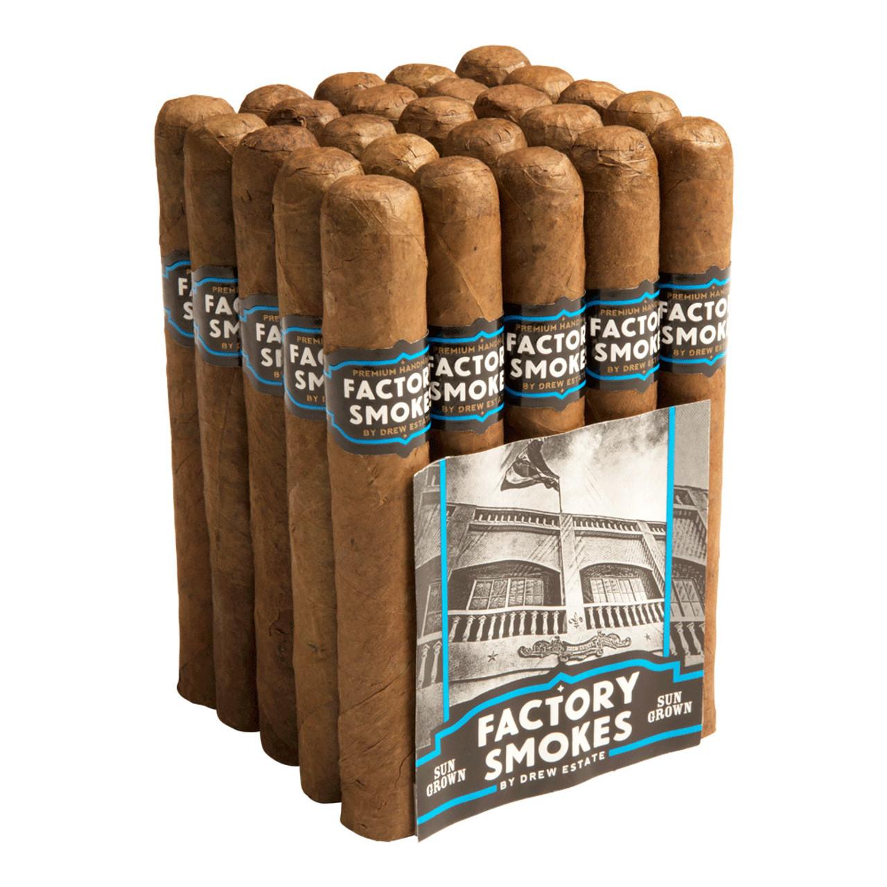 Factory Smokes by Drew Estate Toro Sun Grown Cigars - 6 x 52 (Bundle of 20)