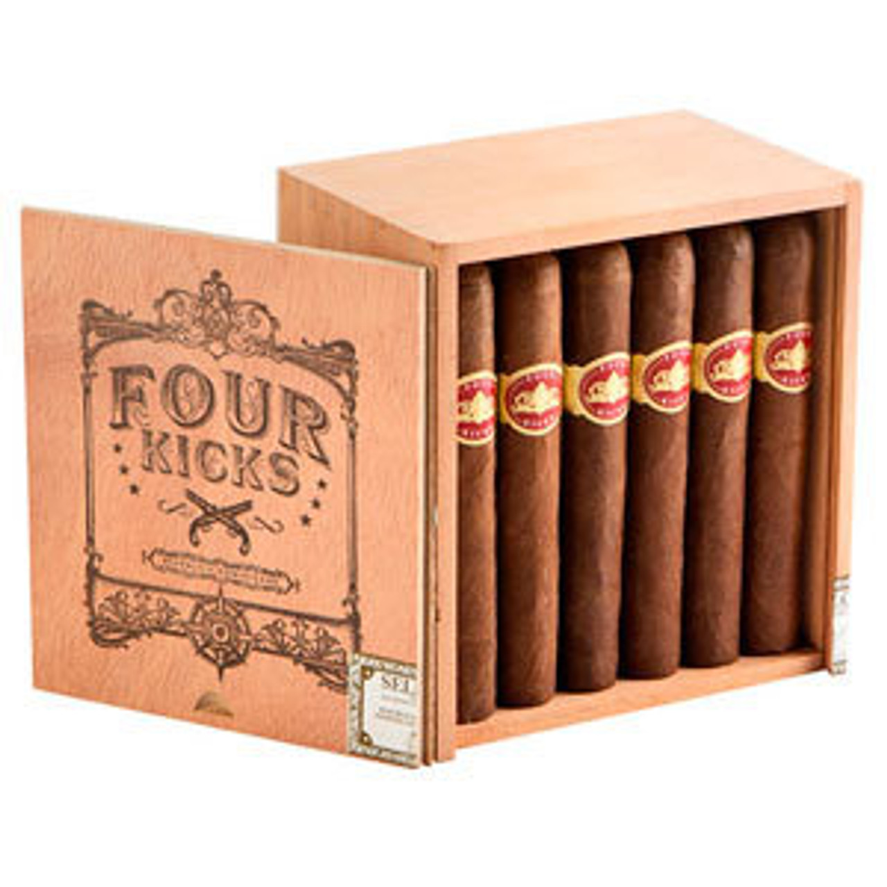 Four Kicks Seleccion No. 5 Cigars - 6.5 x 44 (Box of 24)