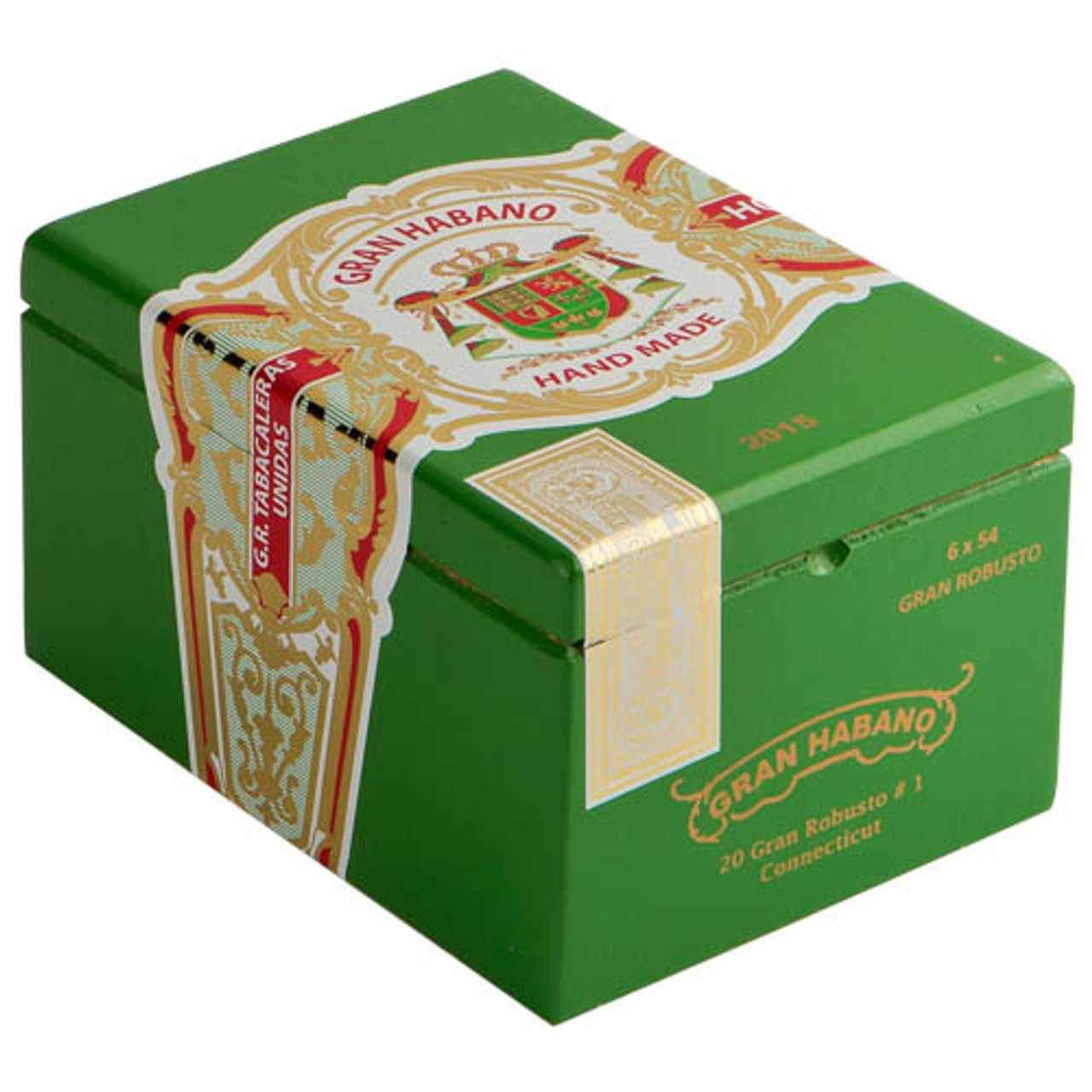 Gran Habano #1 Connecticut Imperiales Cigars - 6 x 60 (Box of 20)