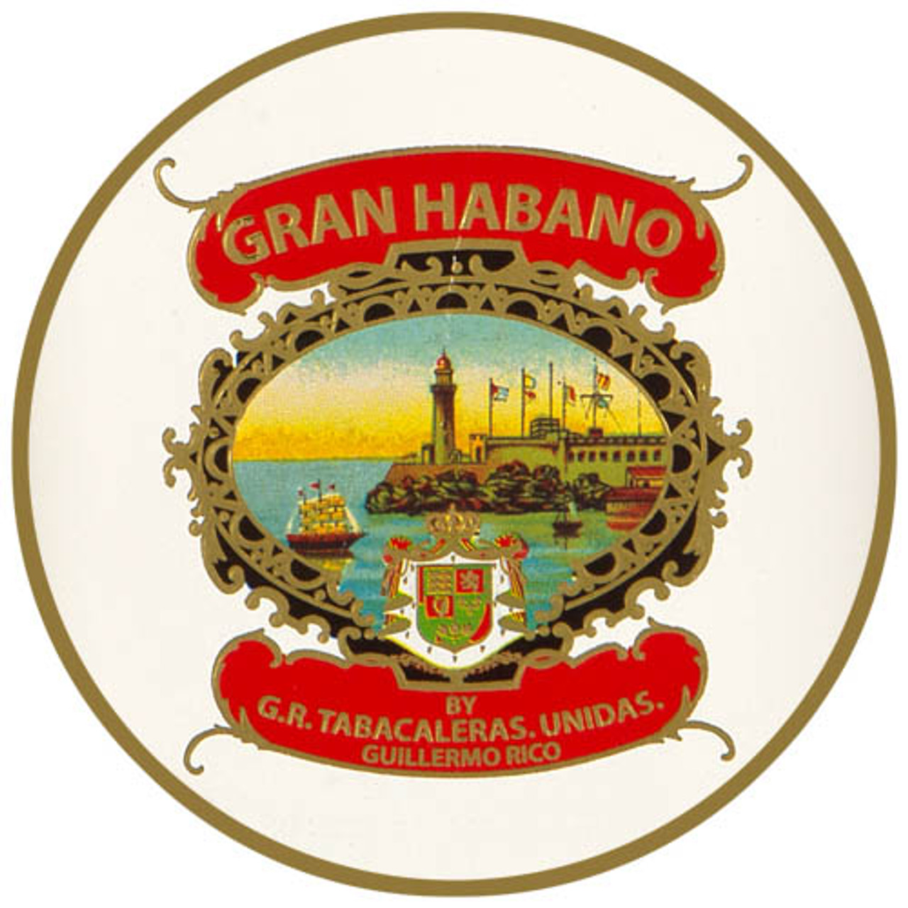Gran Habano #3 Habano Gran Robusto Cigars - 6 x 54 (Box of 20)