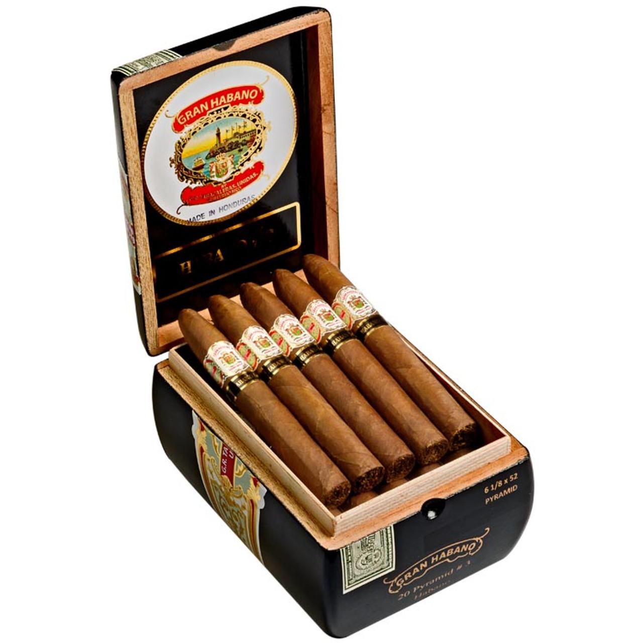 Gran Habano #3 Habano Pyramid Cigars - 6.12 x 52 (Box of 20)