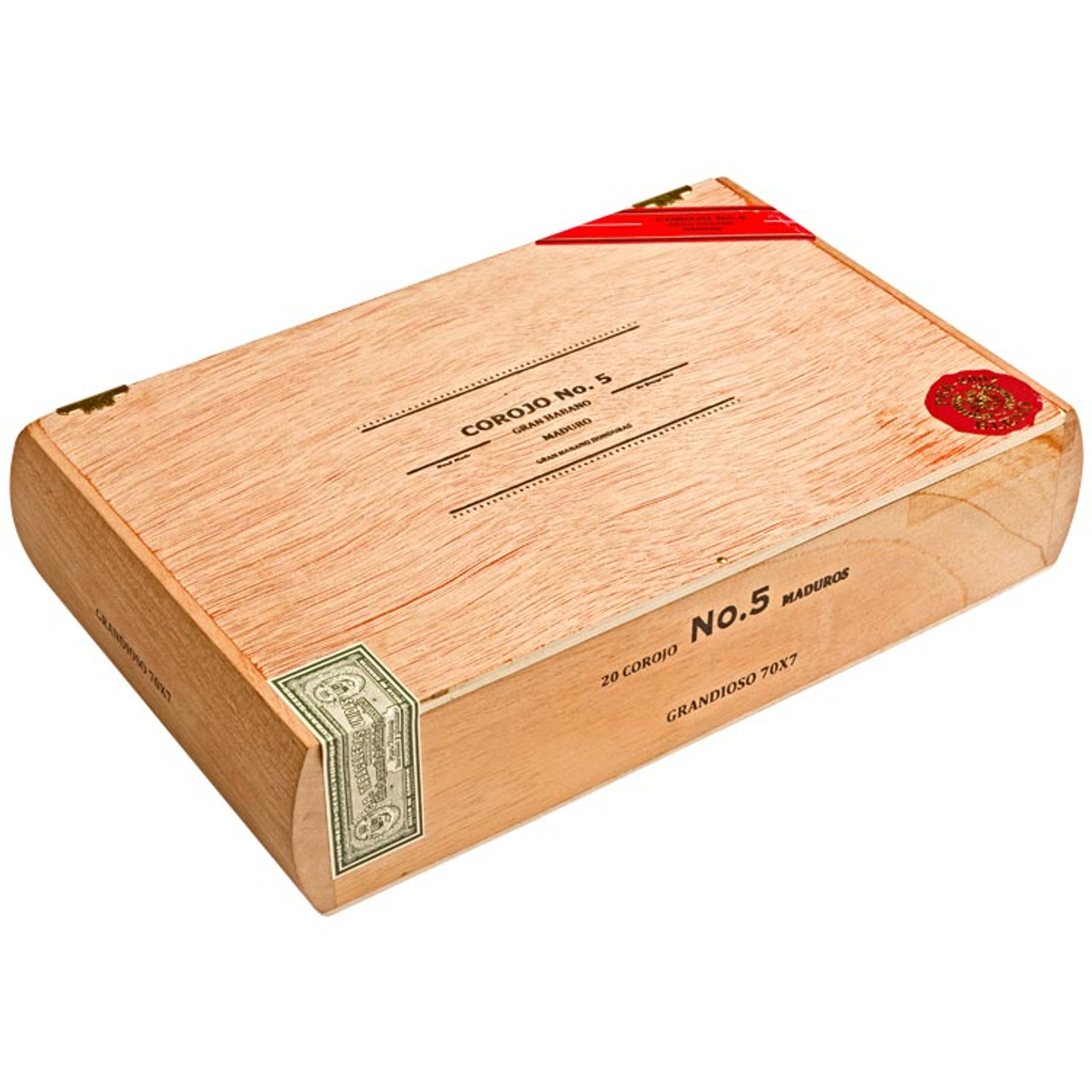 Gran Habano #5 Maduro Grandioso Cigars - 7 x 70 (Box of 20)