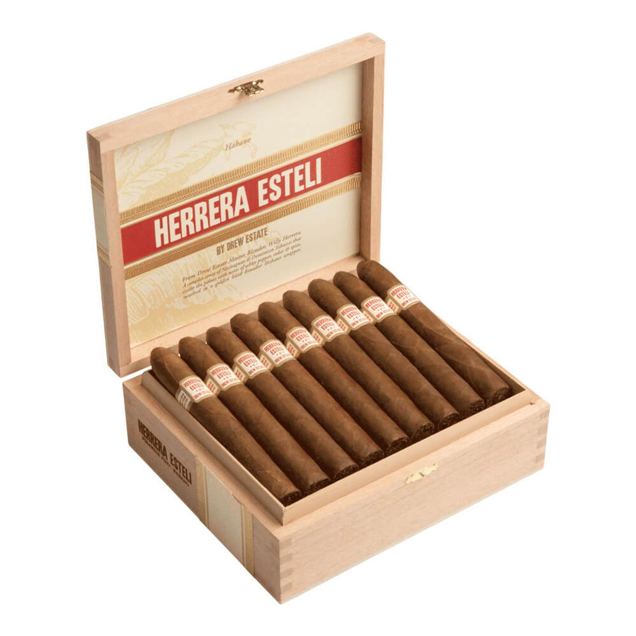Herrera Esteli Habano Lonsdale Deluxe Cigars - 6 x 44 (Box of 25)