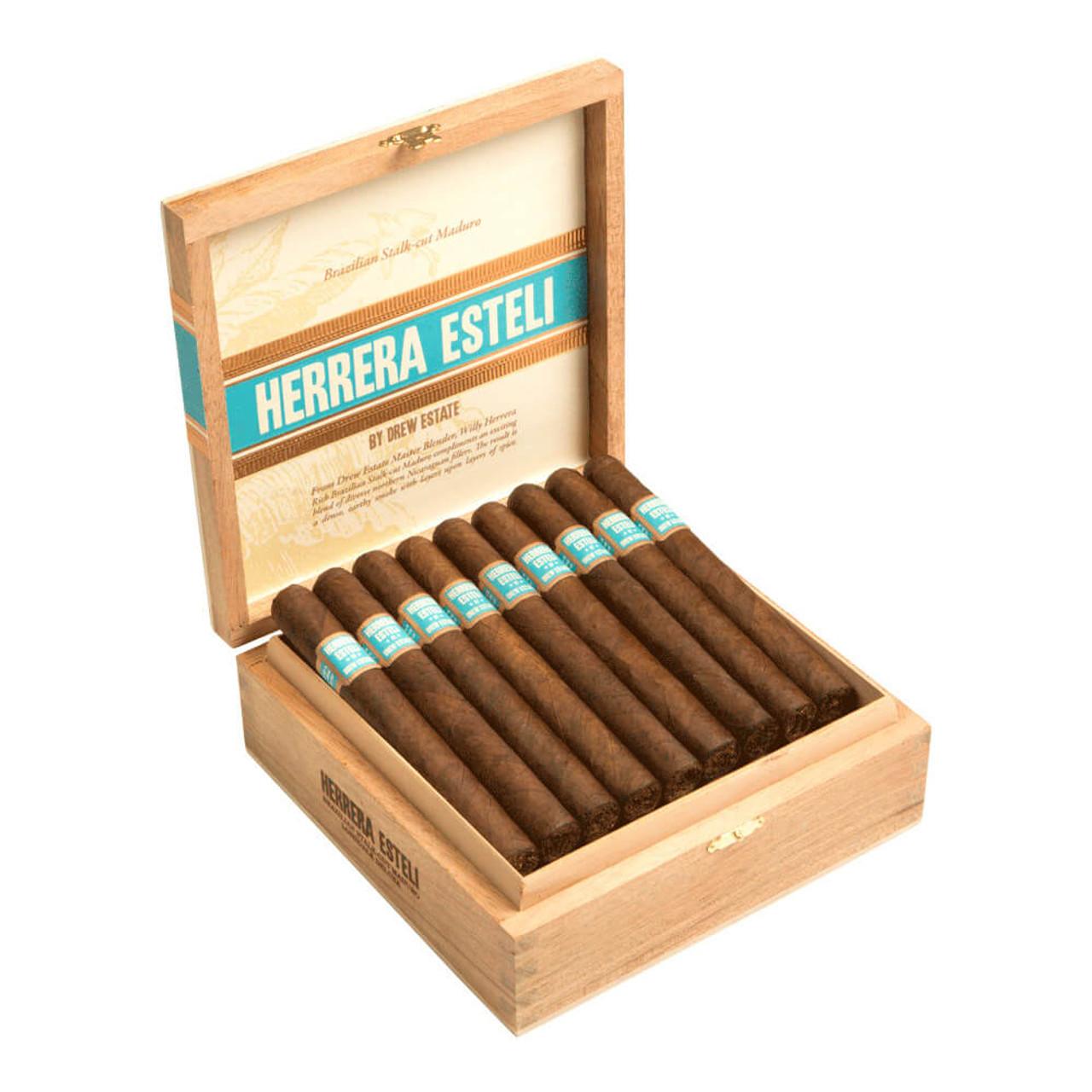 Herrera Esteli Brazilian Maduro Toro Especial Cigars - 6 x 52 (Box of 25)