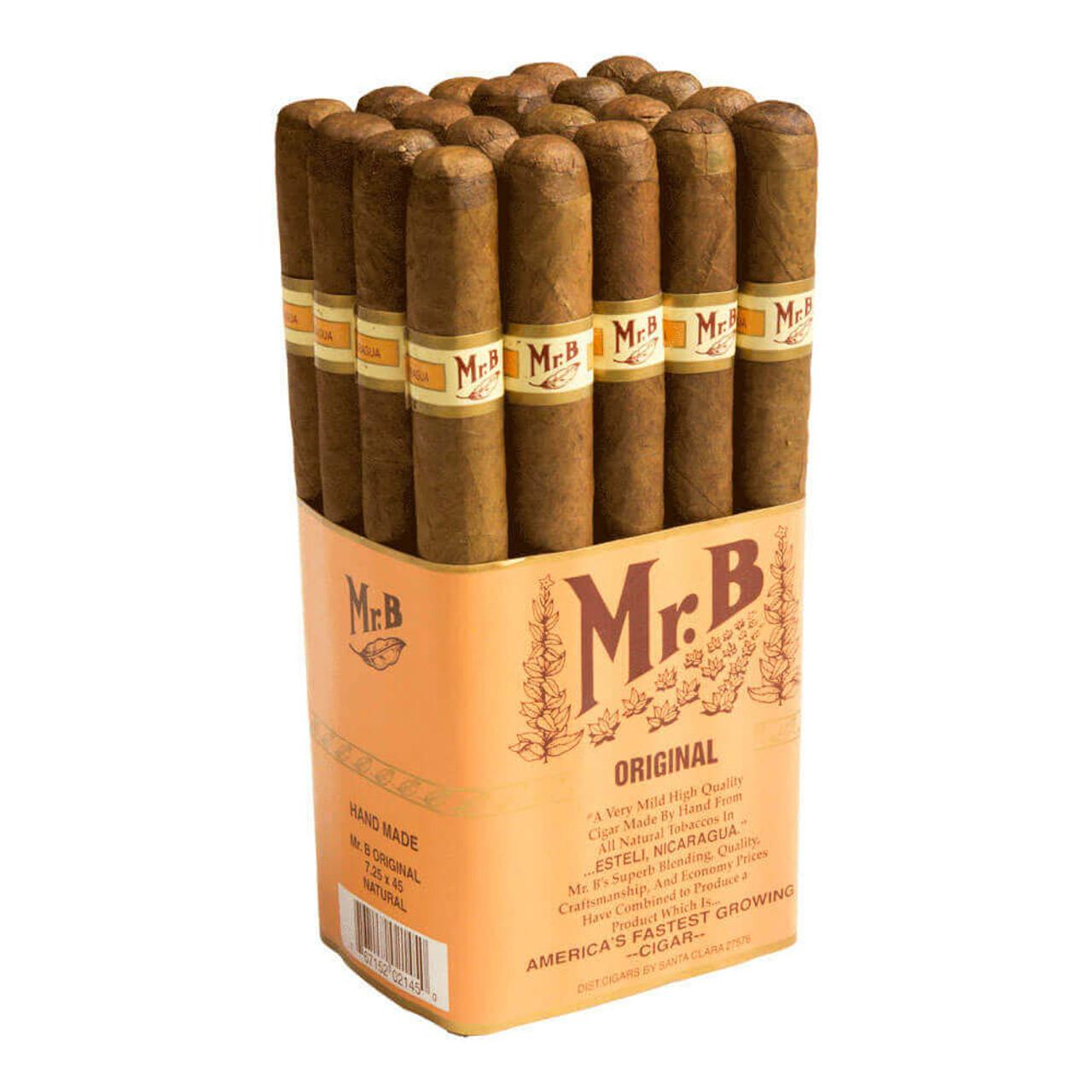 Mr. B Original Cigars - 7.25 x 45 (Bundle of 20)