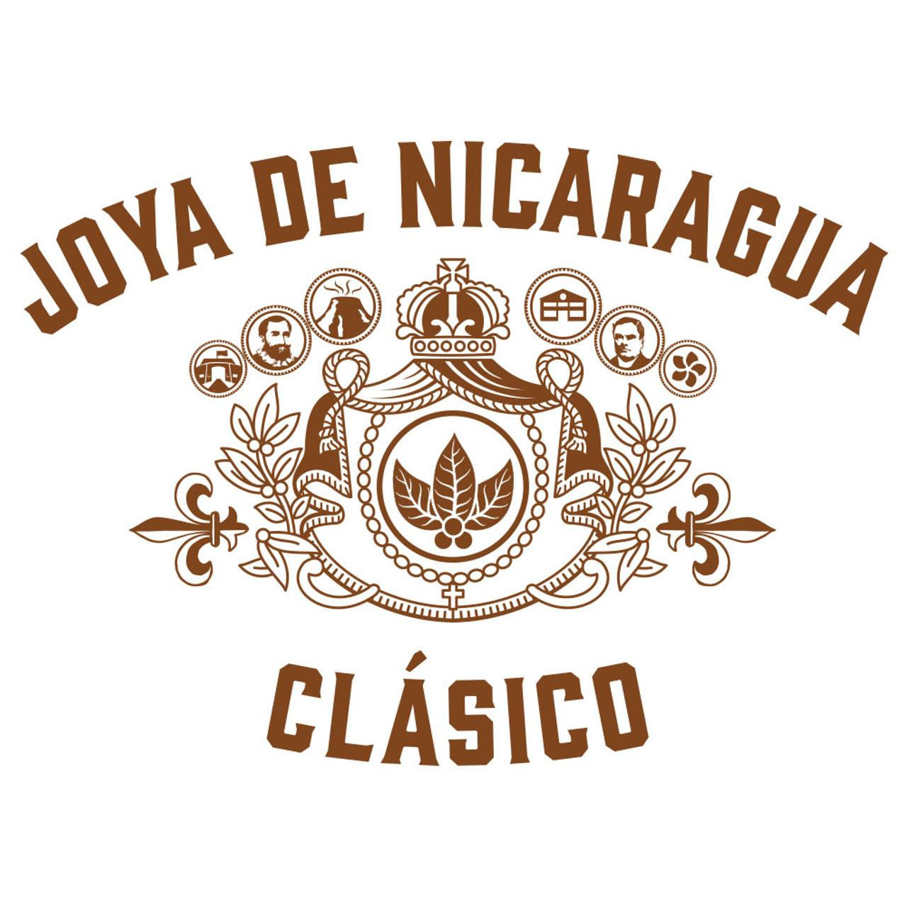 Joya de Nicaragua Clasico No. 6 Cigars - 6 x 41 (Box of 25)