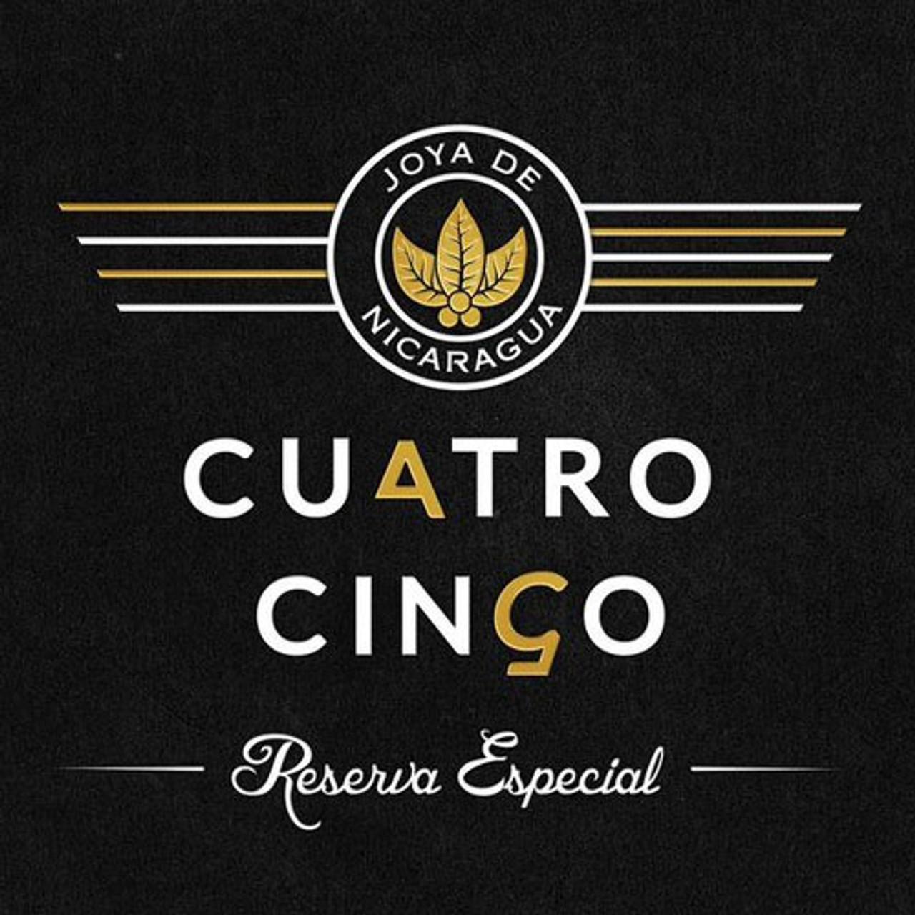 Joya de Nicaragua Cuatro Cinco Reserva Especial Petit Corona Cigars - 4.5 x 46 (Box of 10)