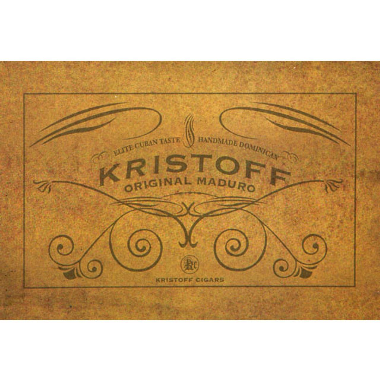 Kristoff Original Maduro Torpedo Cigars - 6.25 x 52 (Box of 20)