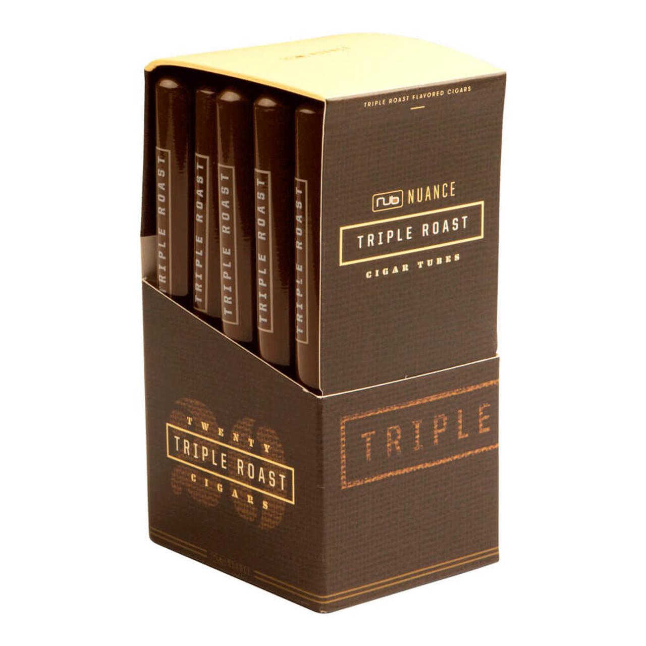 Nub Nuance Triple Roast Tubo Cigars - 4.75 x 30 (Box of 20)