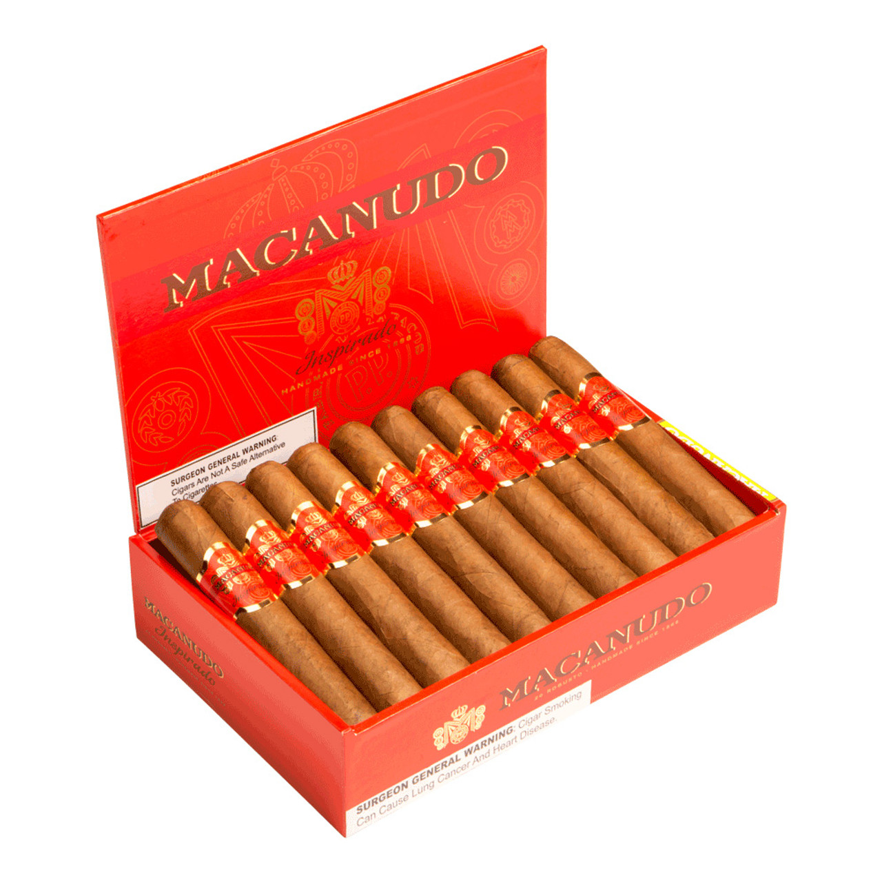 Macanudo Inspirado Orange Toro Cigars - 5.75 x 52 (Box of 20)