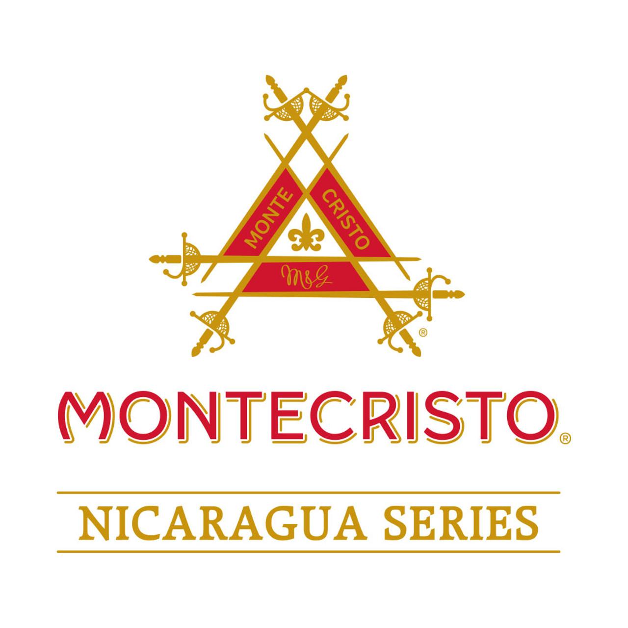 Montecristo Nicaragua Robusto Cigars - 5 x 54 (Box of 20)