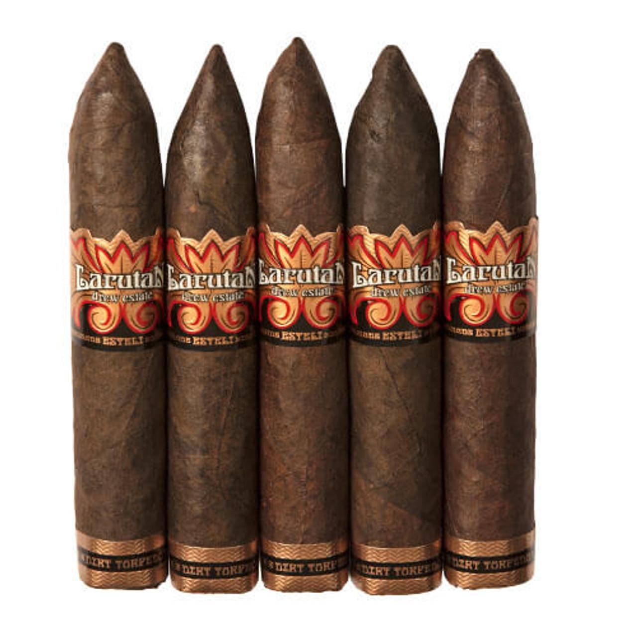 Larutan by Drew Estate Dirt Torpedo Cigars - 5 x 52 (Pack of 5)