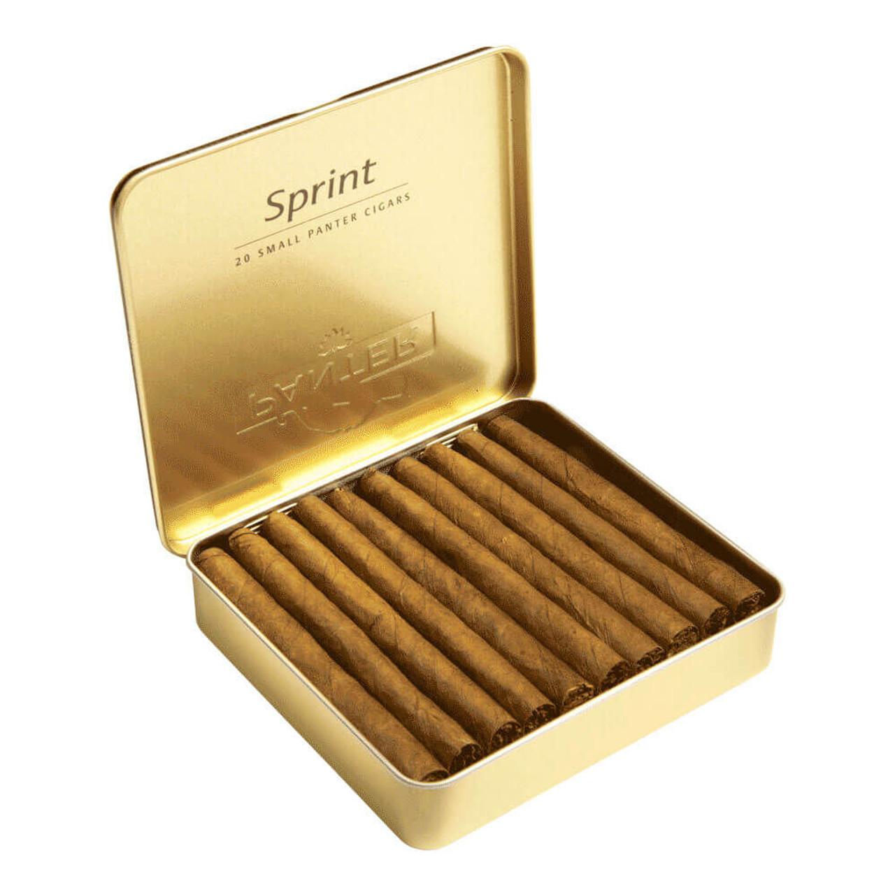 Panter Sprint Cigars - 3 x 21 (10 Tins of 20 (200 Total))