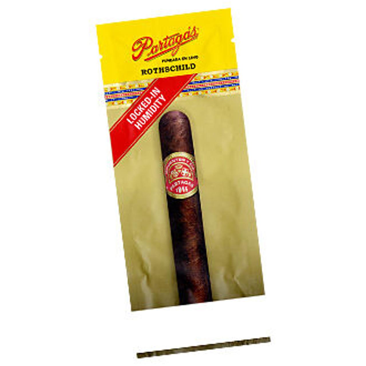 Partagas Robusto Fresh Pack Cigars - 5.5 x 49 (20 Single Fresh Packs in a Display Box)