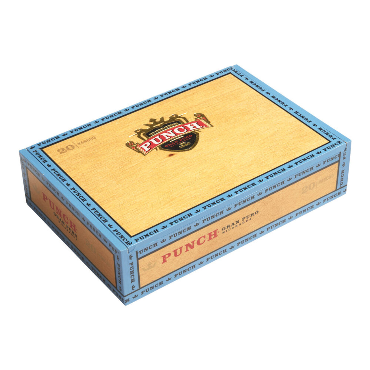 Punch Gran Puro Nicaragua Cigars - 4.88 x 48 (Box of 20)