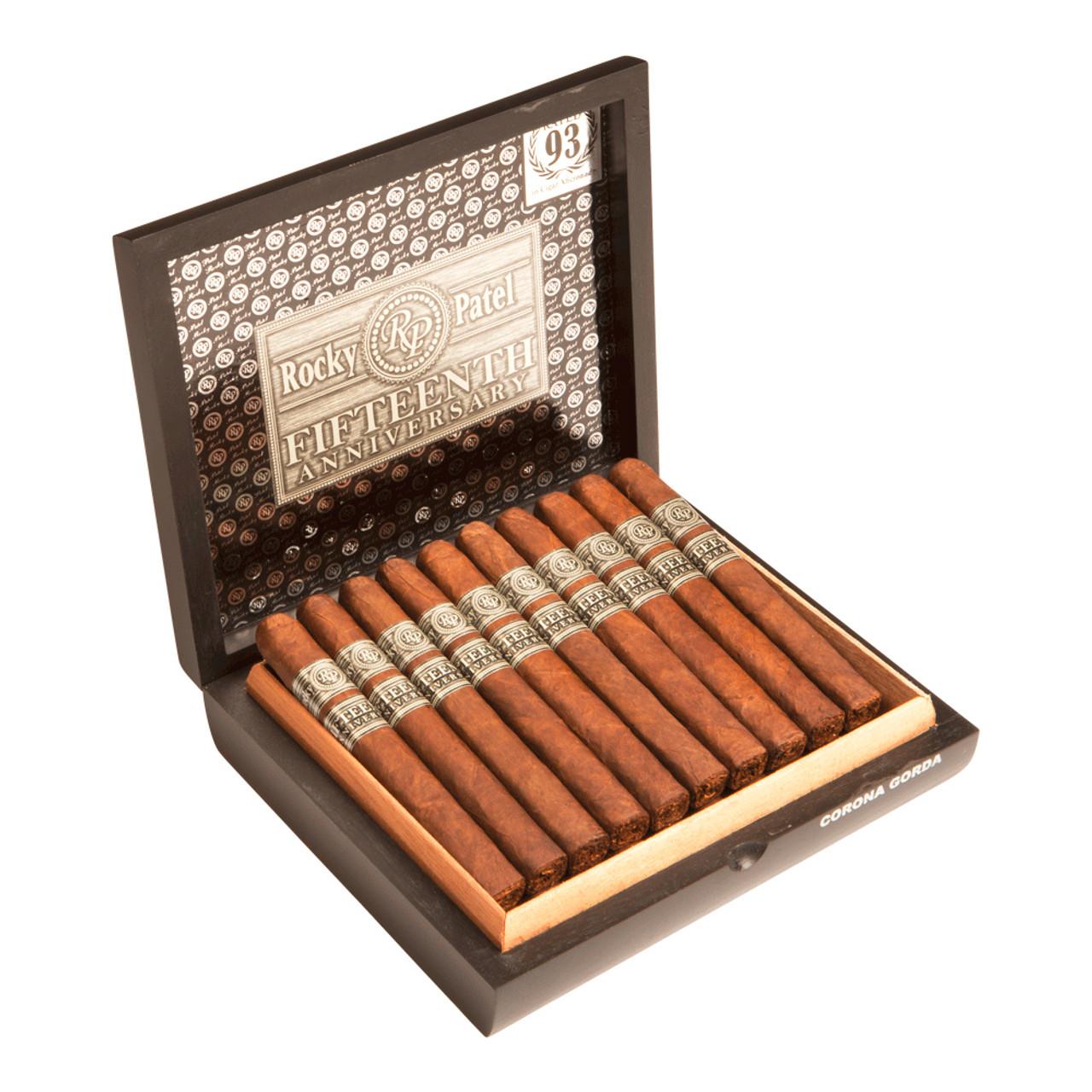 Rocky Patel 15th Anniversary Corona Gorda Cigars - 6.12 x 52 (Box of 20)