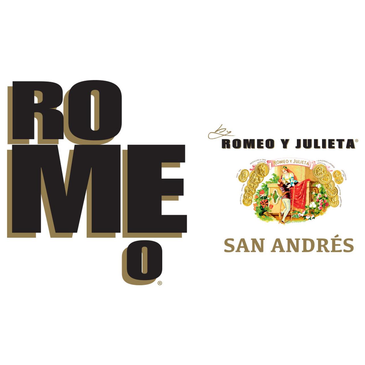 Romeo San Andres by Romeo y Julieta Piramide Cigars - 6.12 x 52 (Box of 20)