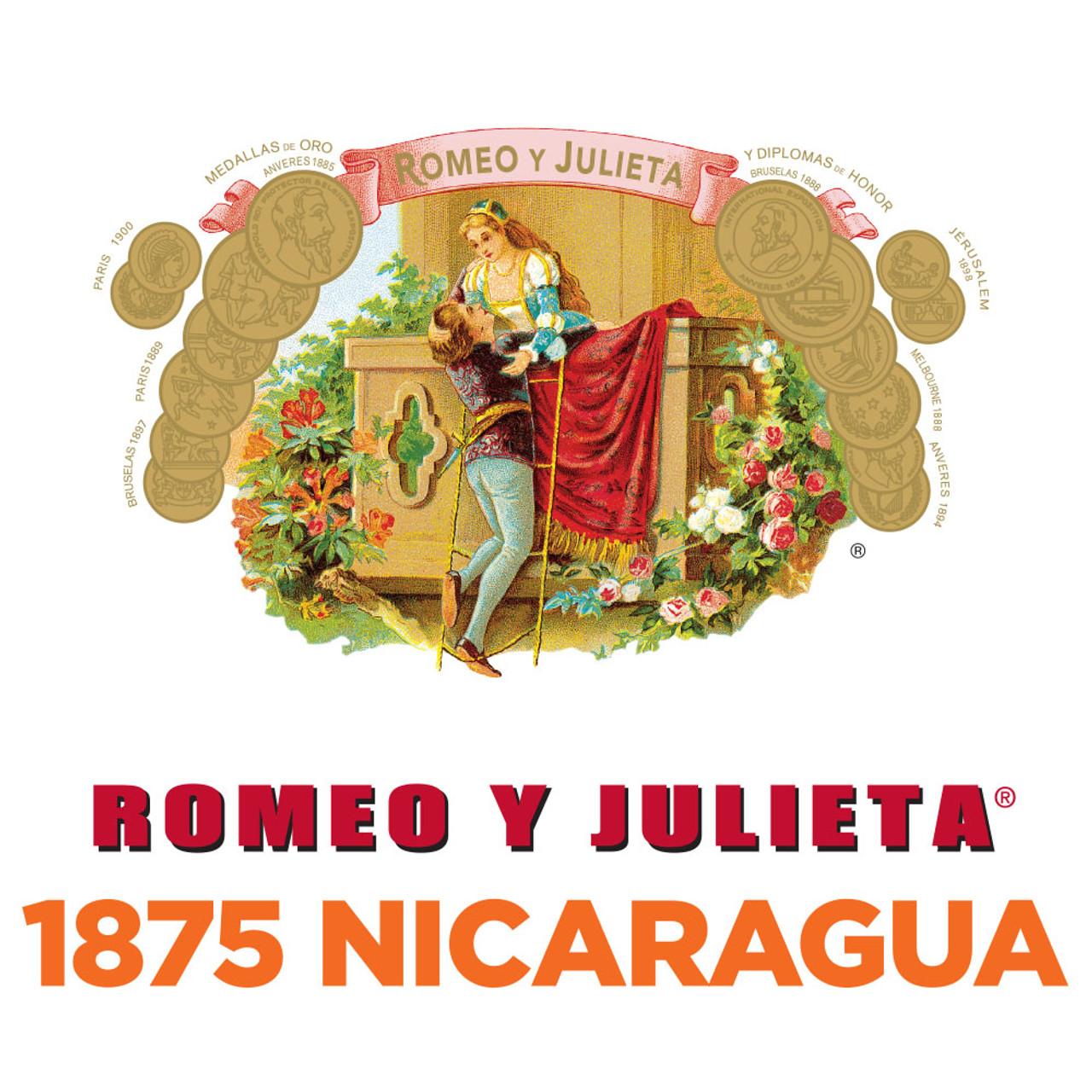 Romeo y Julieta 1875 Nicaragua Churchill Cigars - 7 x 52 (Box of 25)