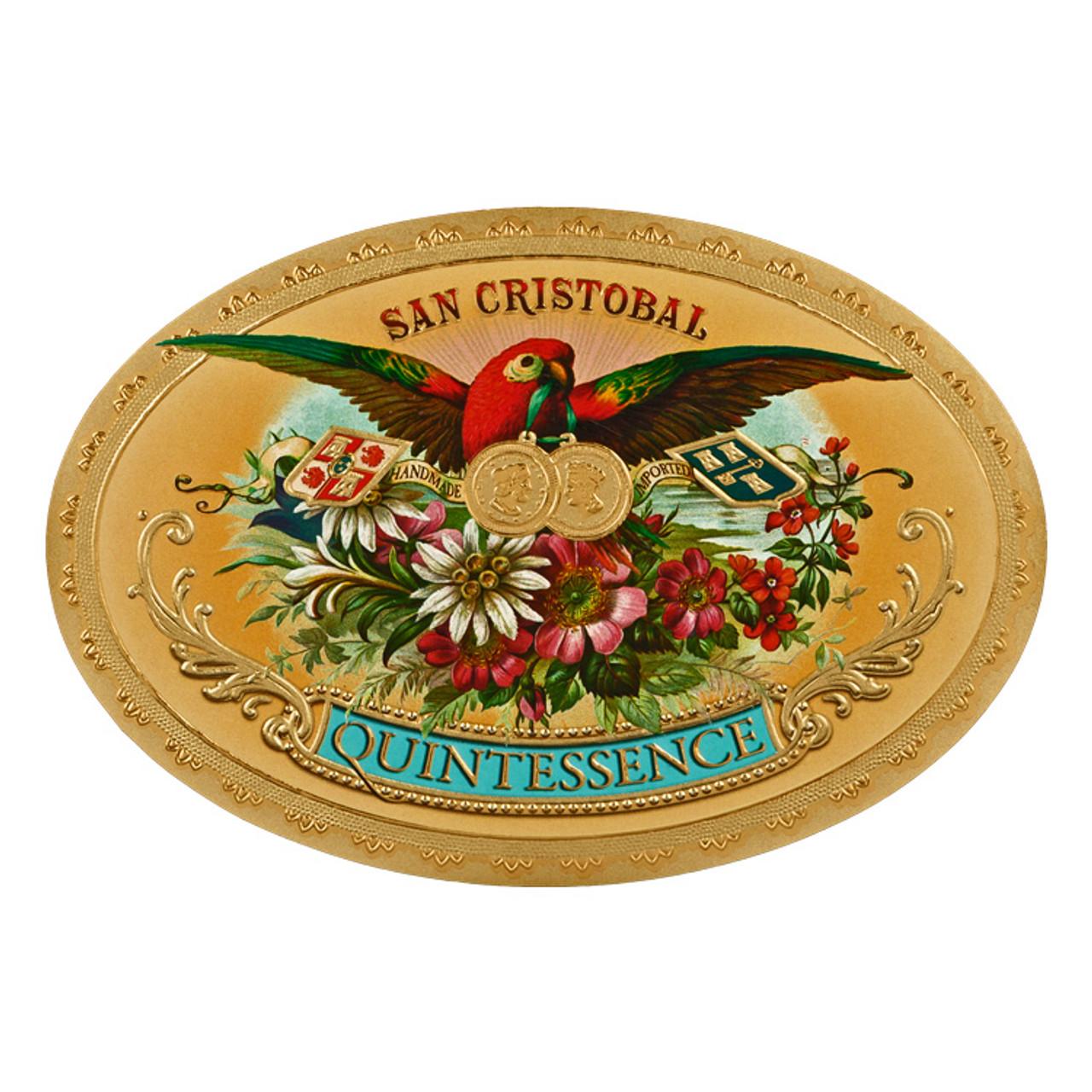 San Cristobal Quintessence Epicure Cigars - 6 x 52 (Box of 24)