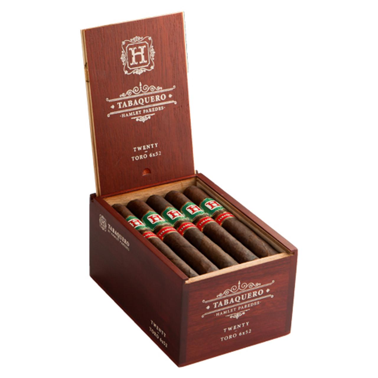 Tabaquero by Hamlet Paredes Corona Cigars - 5.5 x 42 (Box of 20)