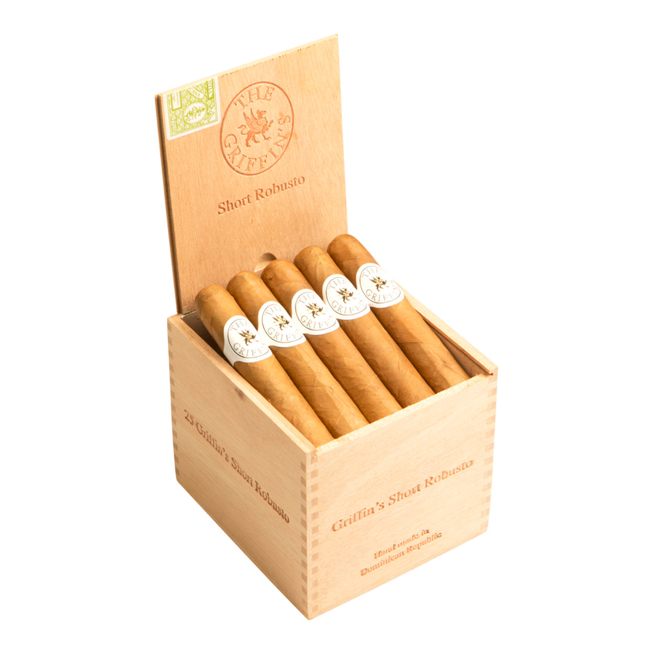 The Griffin's Short Robusto Cigars - 4.25 x 48 (Box of 25)