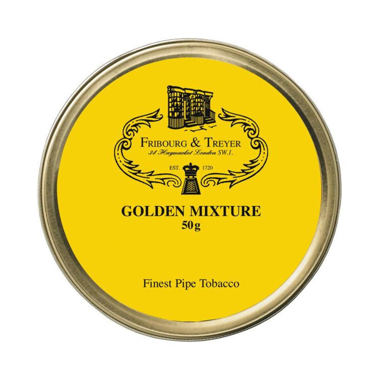 Fribourg & Treyer Golden Mixture Pipe Tobacco | 1.75 OZ TIN