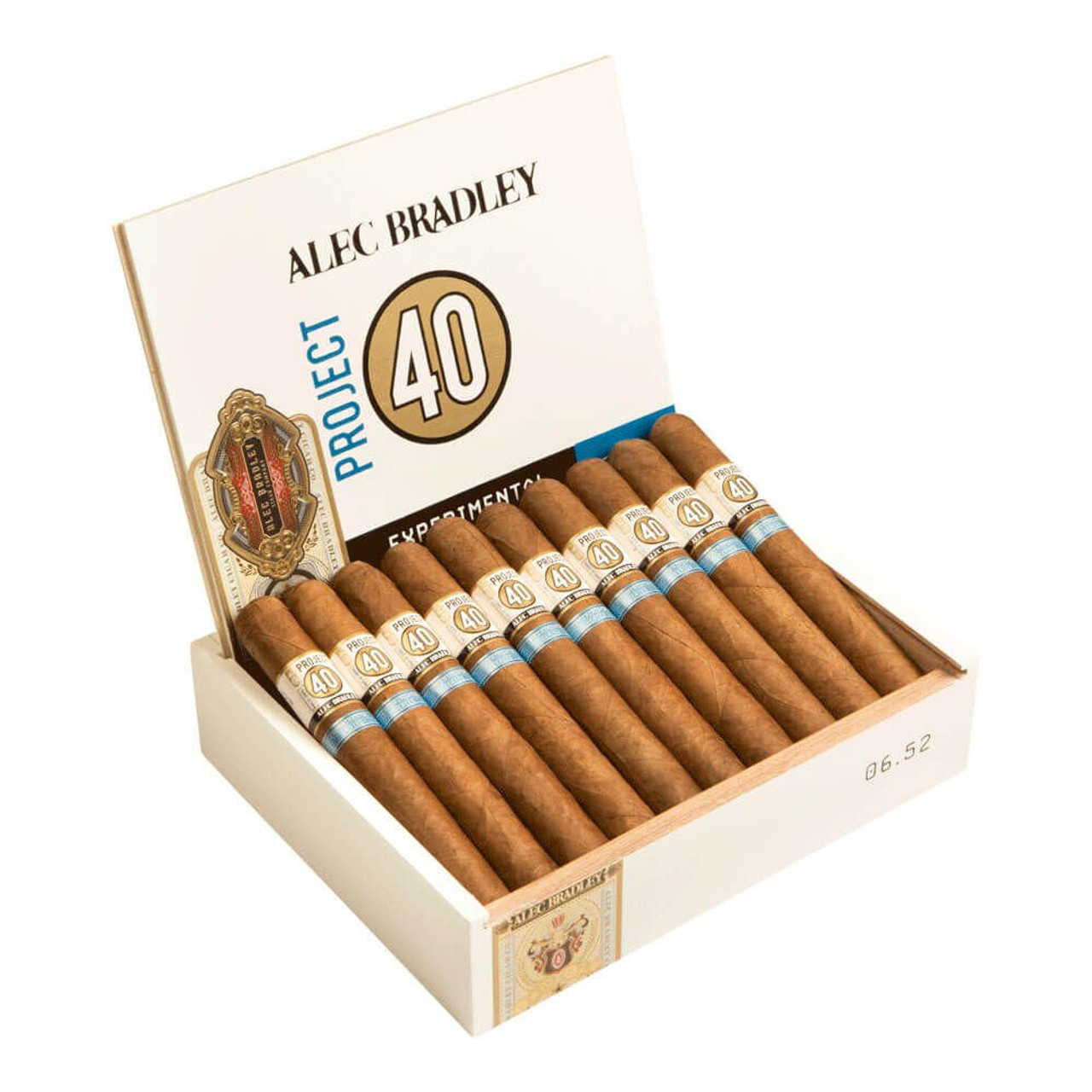 Alec Bradley Project 40 Churchill Cigars - 7 X 52 (Box of 20)