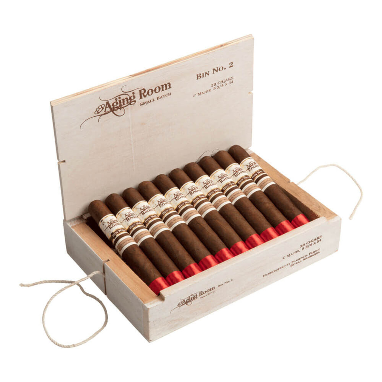 Aging Room Bin No. 2 C Major Cigars - 5.75 x 54 (Box of 20)