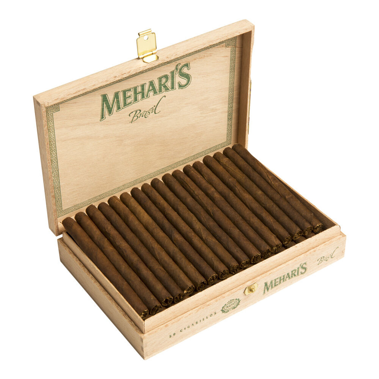 Agio Mehari's Cigarillos Brazil Cigars - 4 x 23 (Box of 50)
