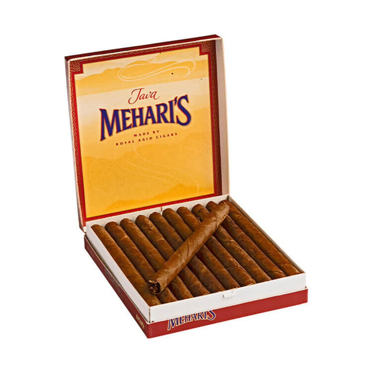 Agio Mehari's Cigarillos Java Cigars - 4 x 23 (20 packs of 10 (200 total))