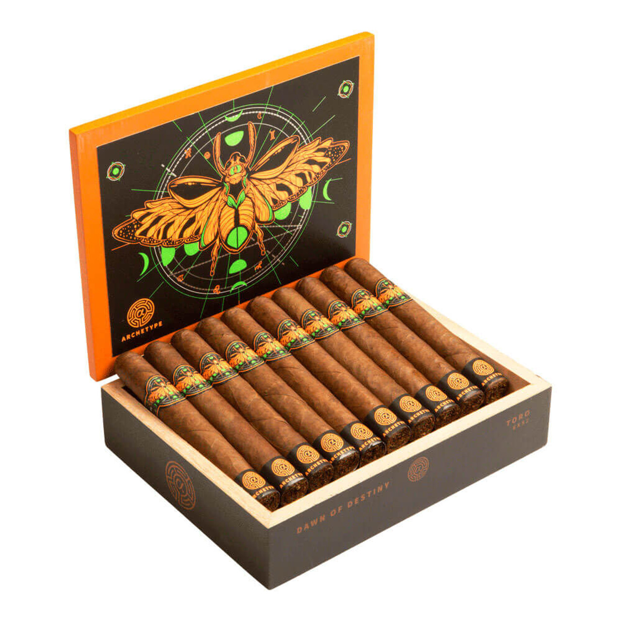 Archetype Dawn of Destiny Toro Cigars - 6 x 52 (Box of 20)
