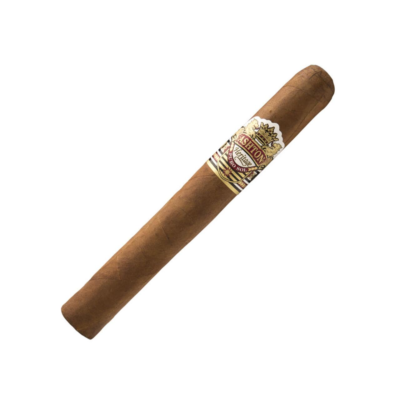 Ashton Heritage Puro Sol Corona Gorda Cigars - 5.75 x 46 (Box of 25)