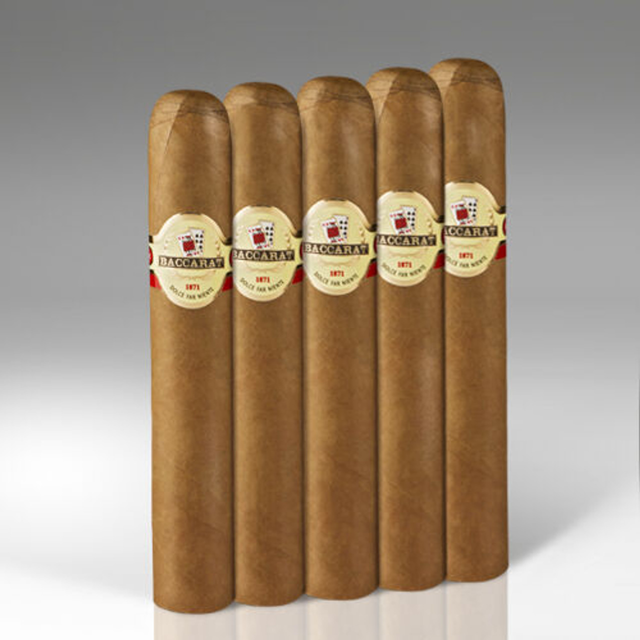 Baccarat Gordo Cigars - 6 x 60 (Pack of 5)