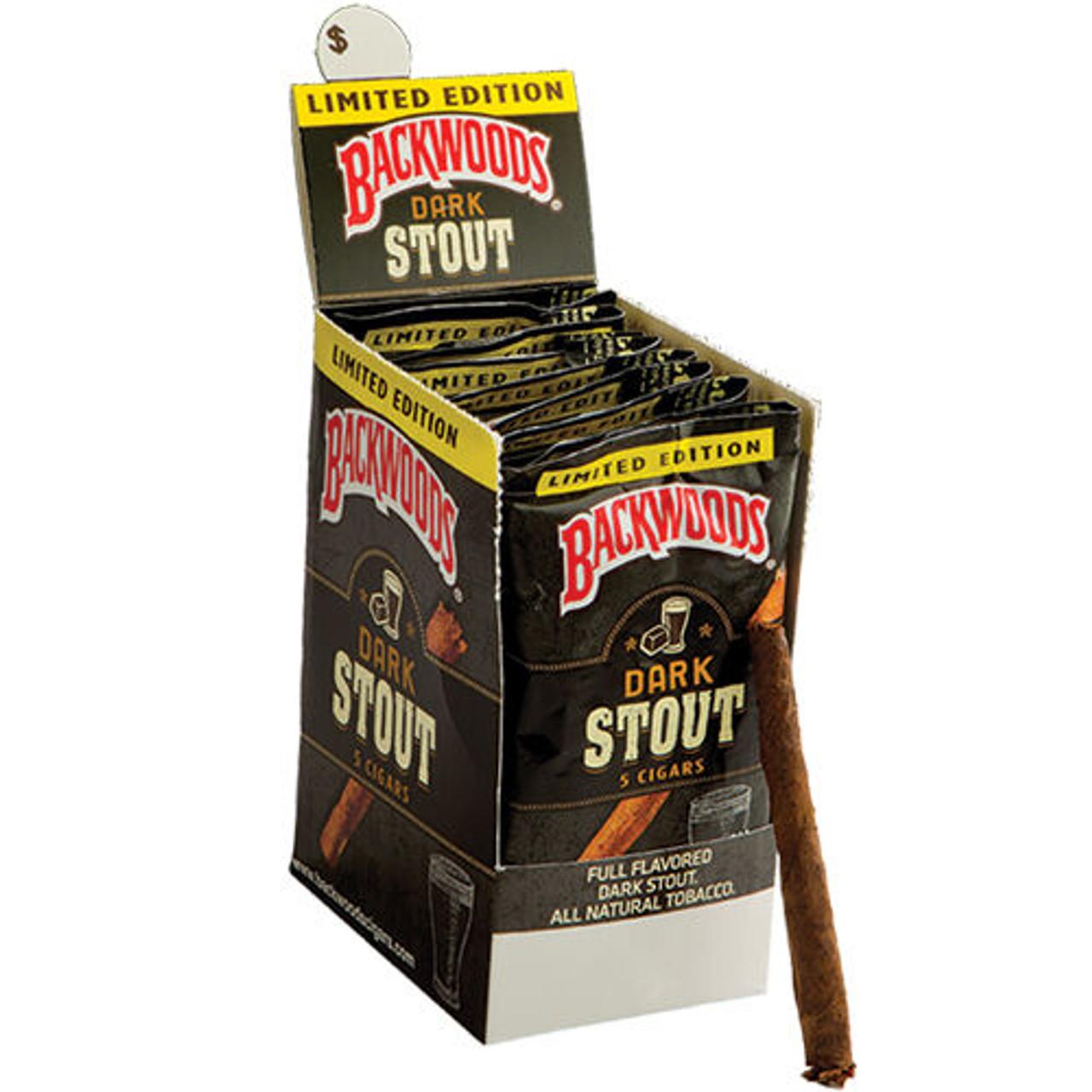 Backwoods Cigars Dark Stout Cigars - 4.5 x 32 (Box of 24)