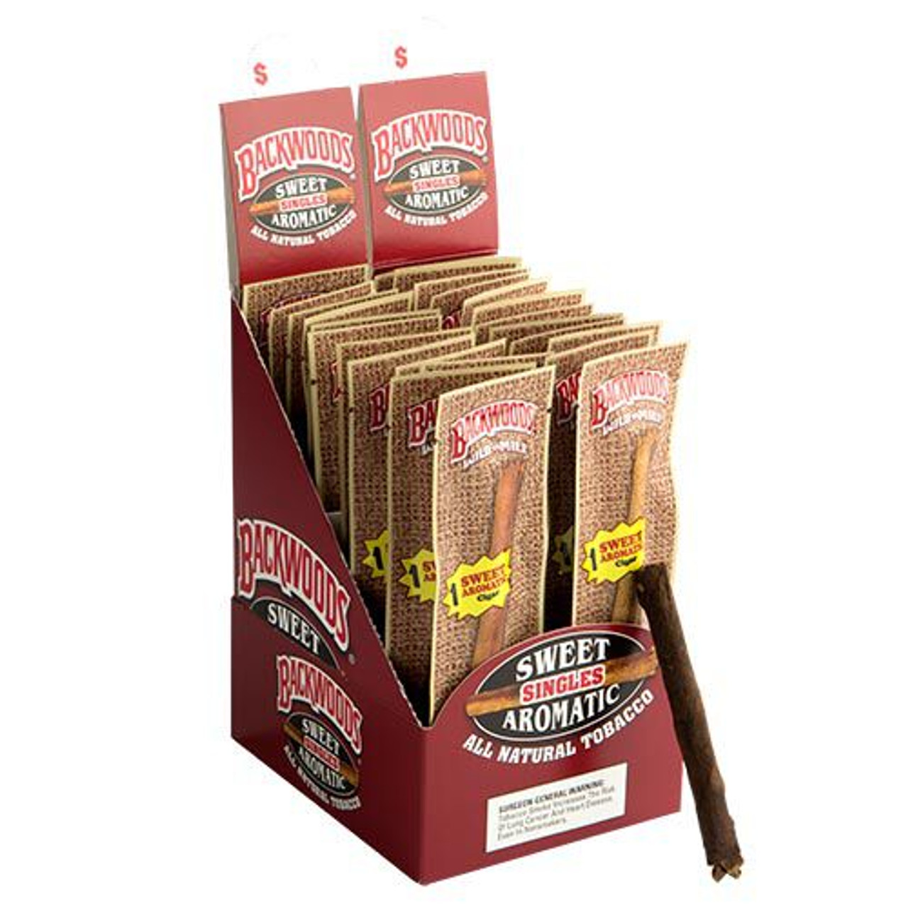 Backwoods Cigars Sweet Aromatic Cigars - 4.5 x 32 (Box of 24)