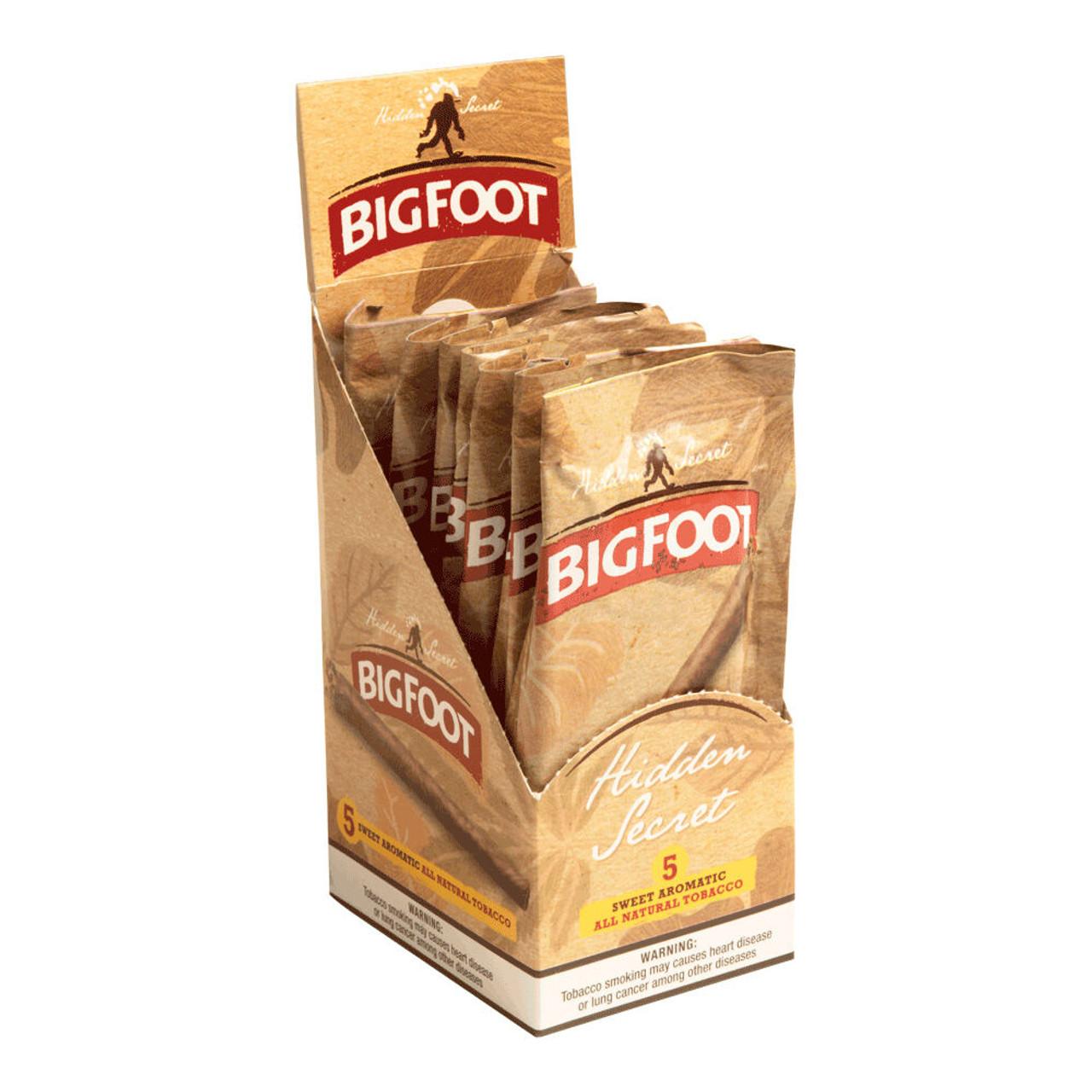 Big Foot Sweet Aromatics Hidden Secret Cigars - 4.5 x 27 (8 Packs of 5 (40 total))