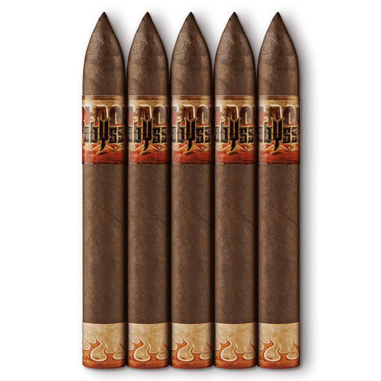 Black Abyss Hydra Cigars - 6 x 52 (Pack of 5)