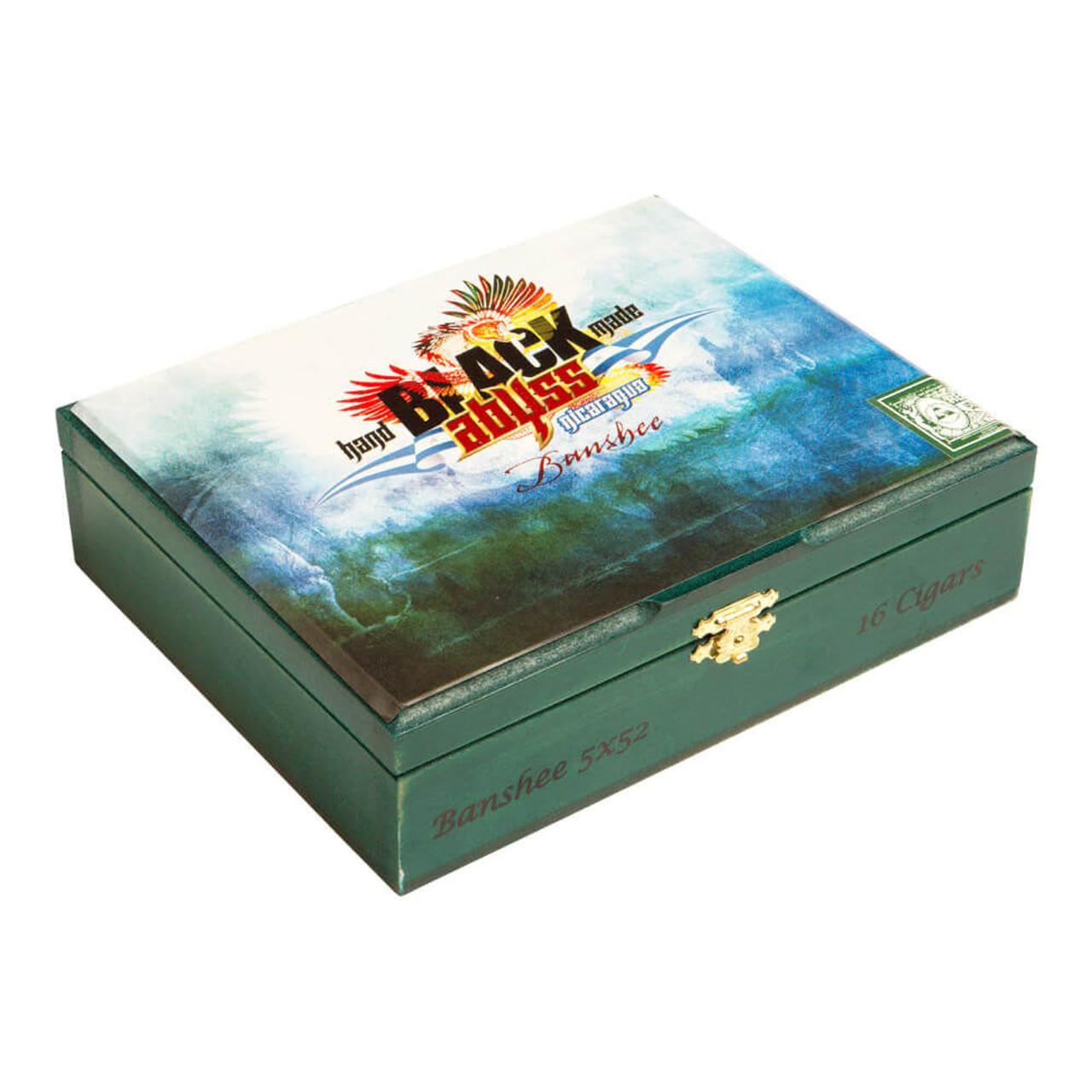 Black Abyss Nicaragua Banshee Cigars - 5 x 52 (Box of 16)