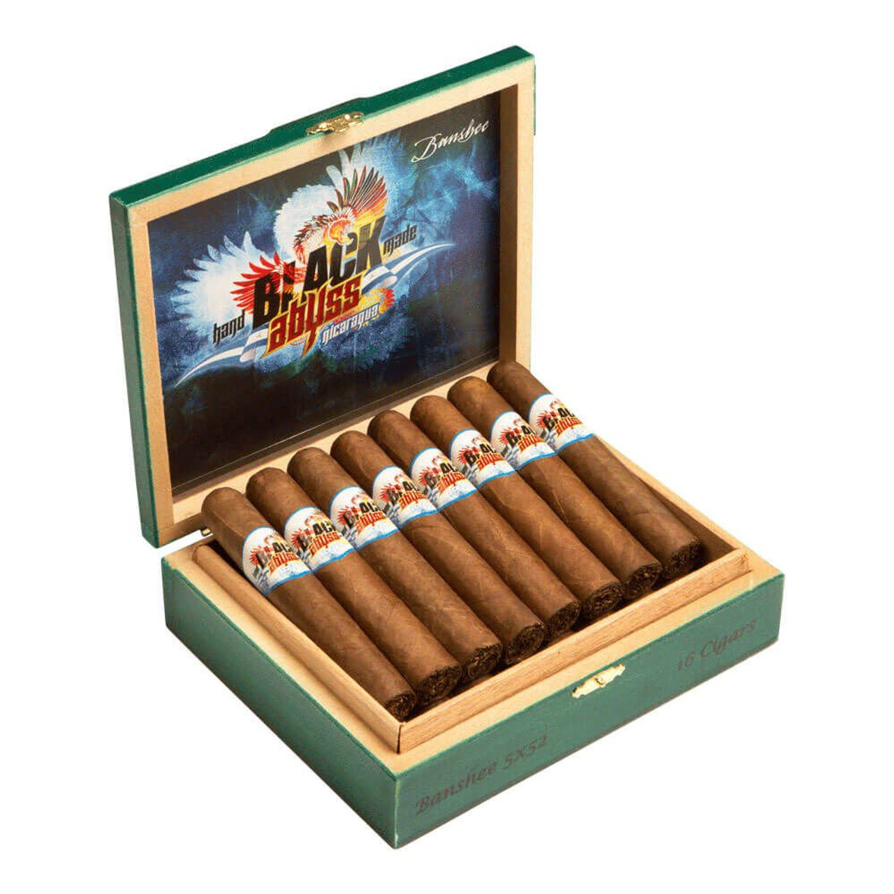 Black Abyss Nicaragua Hydra Cigars - 6 x 56 (Box of 16)