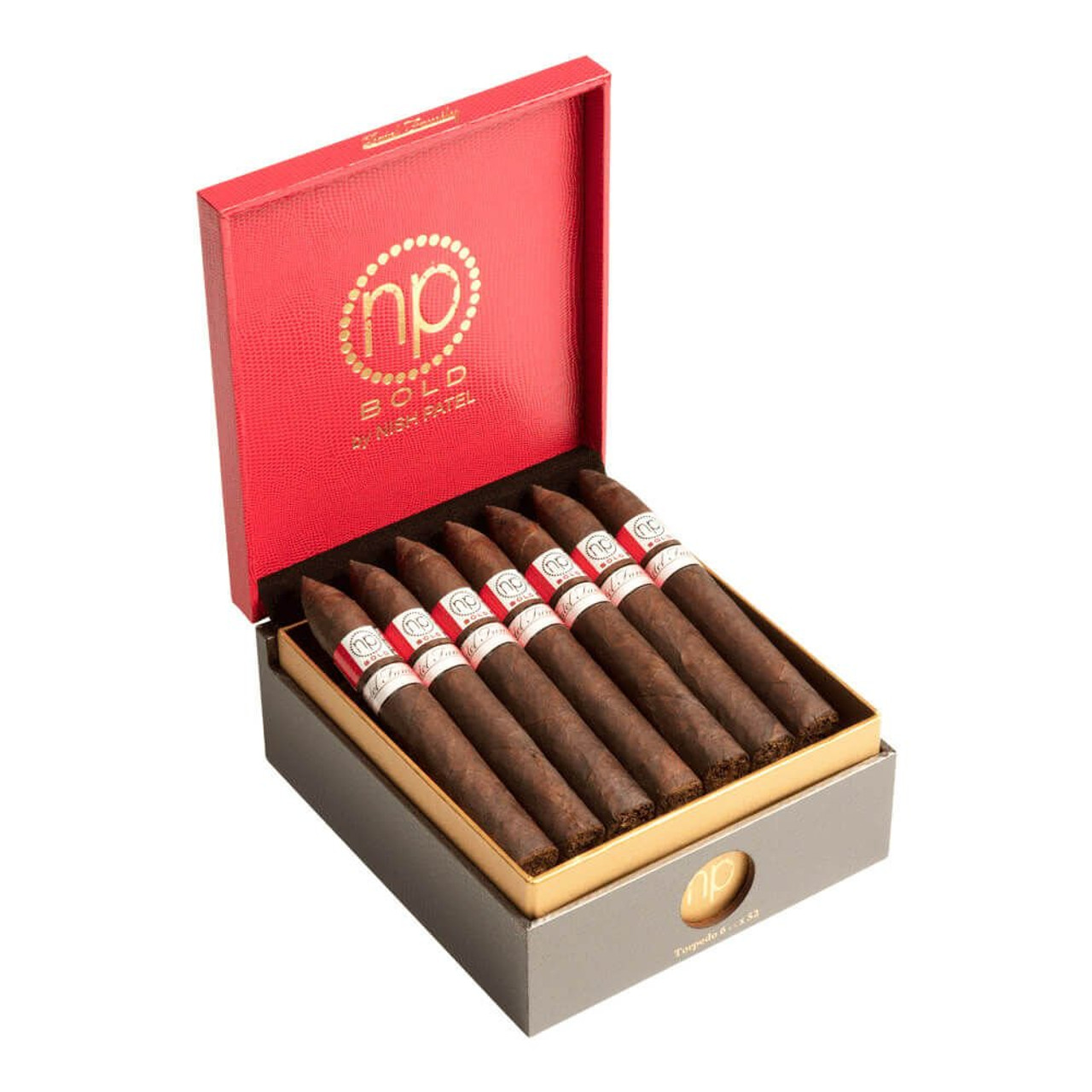 Bold by Nish Toro Cigars - 6.5 x 52 (Box of 21)