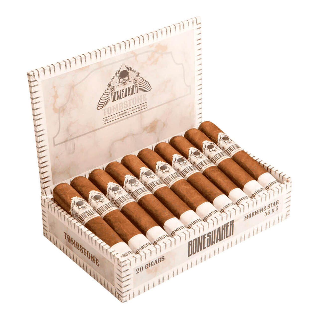 Boneshaker Tombstone Morning Star Cigars - 5 x 56 (Box of 20)