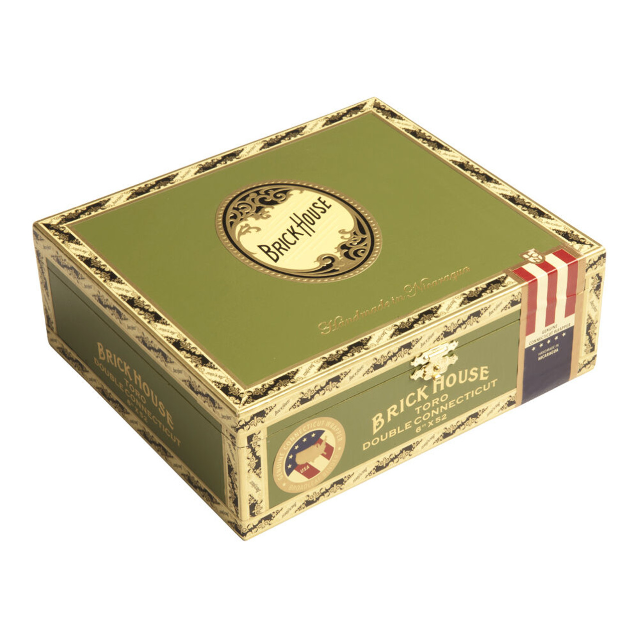 Brick House Double Connecticut Toro Cigars - 6 x 52 (Box of 25)