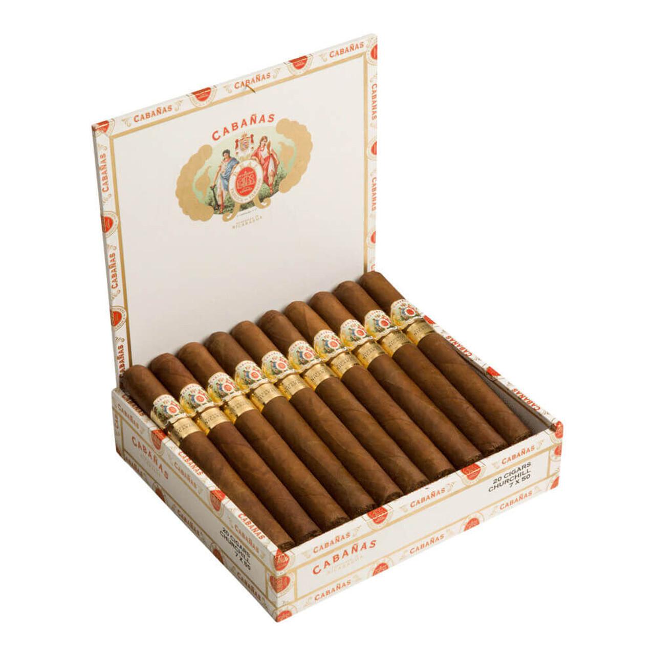 Cabanas Churchill Cigars - 7 x 50 (Box of 20)